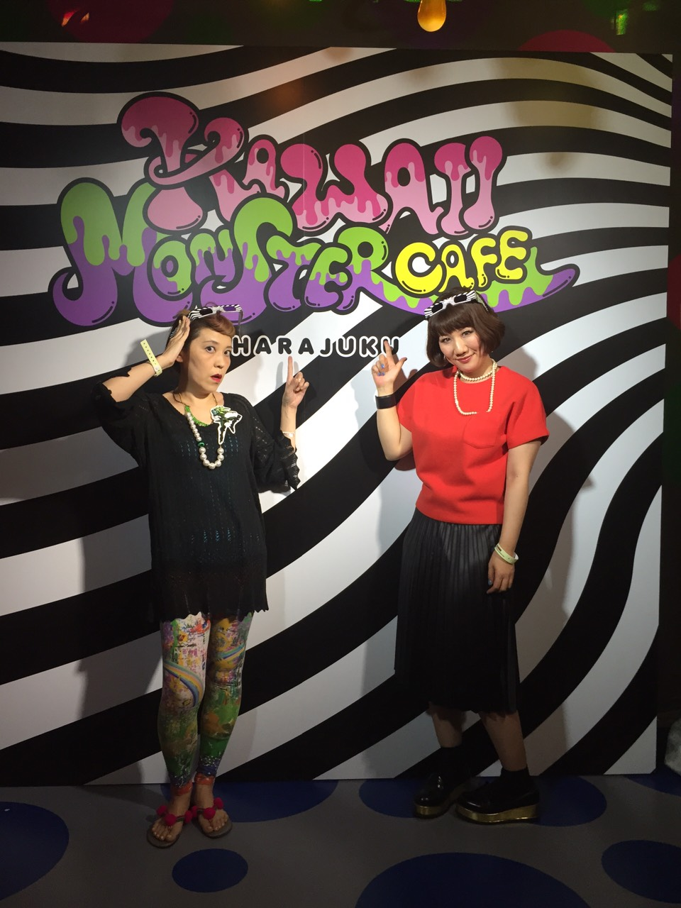 KAWAII MONSTERCAFEレセプション
